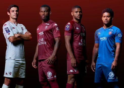 Camisetas Kappa del FC Metz 2020/21 | Imagen Web Oficial