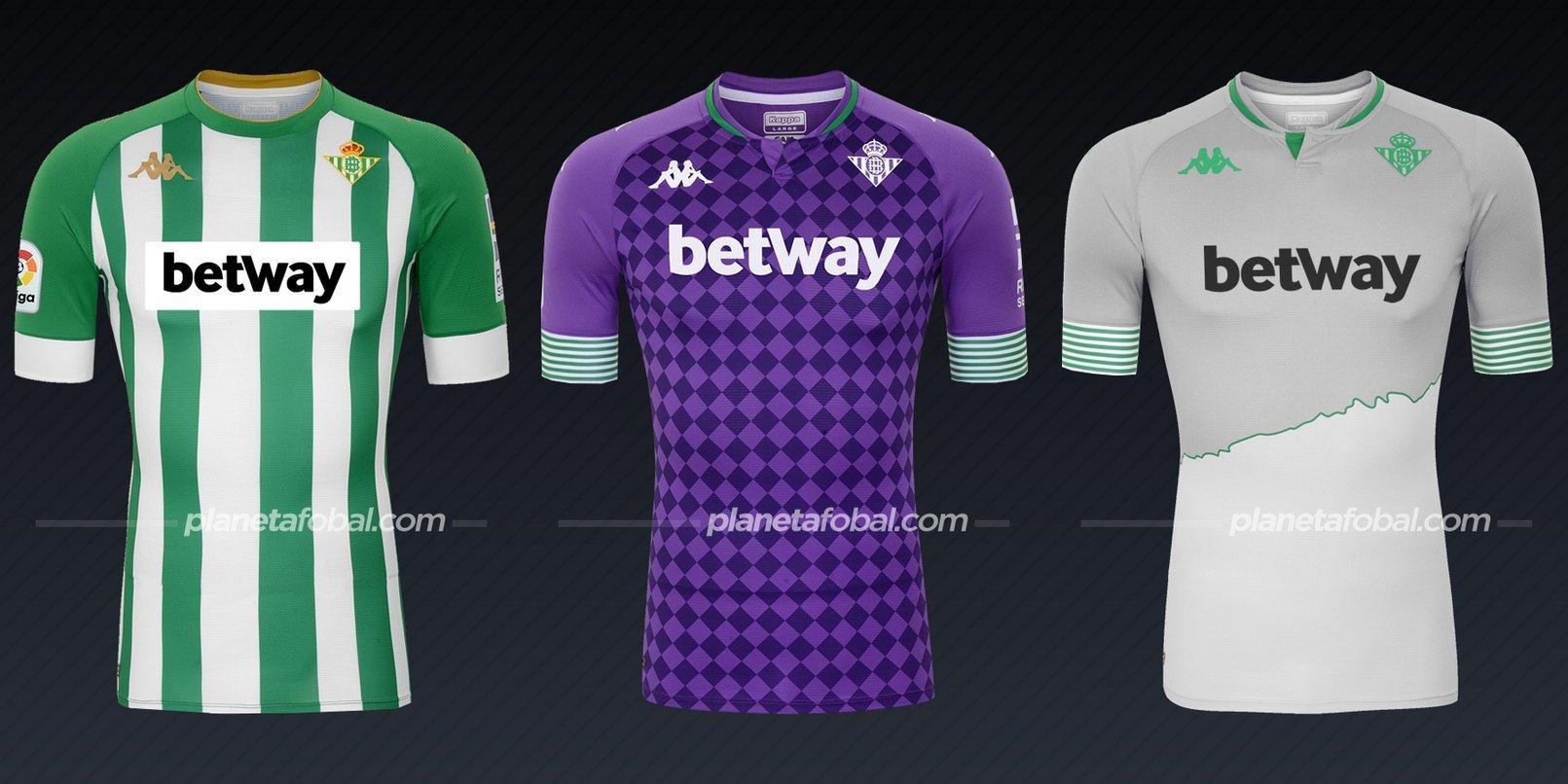 Real Betis (Kappa) | Camisetas de la Liga española 2020/2021