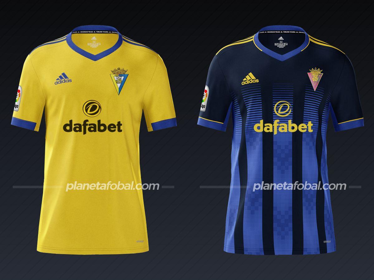 Cádiz (adidas) | Camisetas de la Liga española 2020/2021
