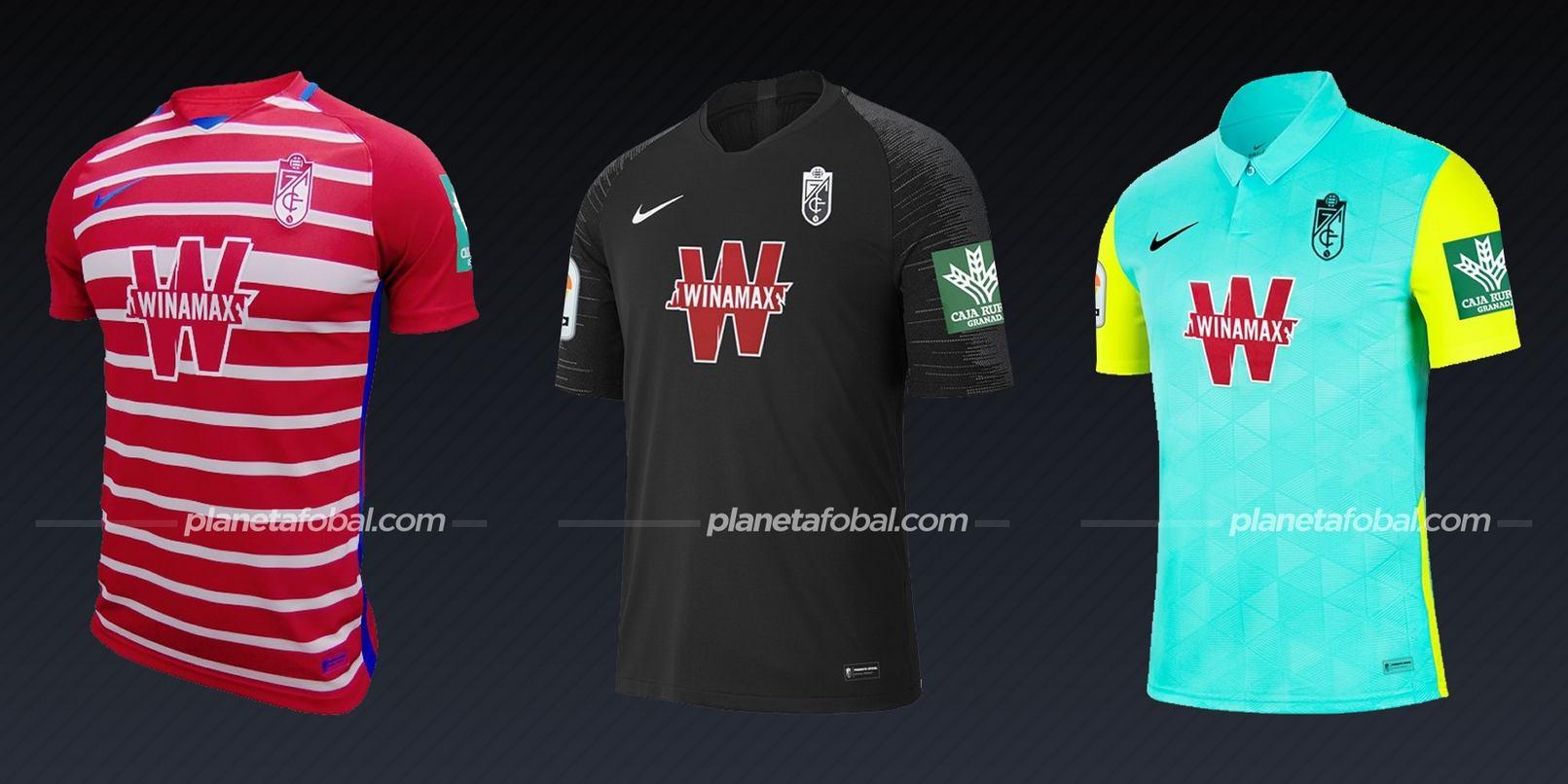 Granada CF (Nike) | Camisetas de la Liga española 2020/2021