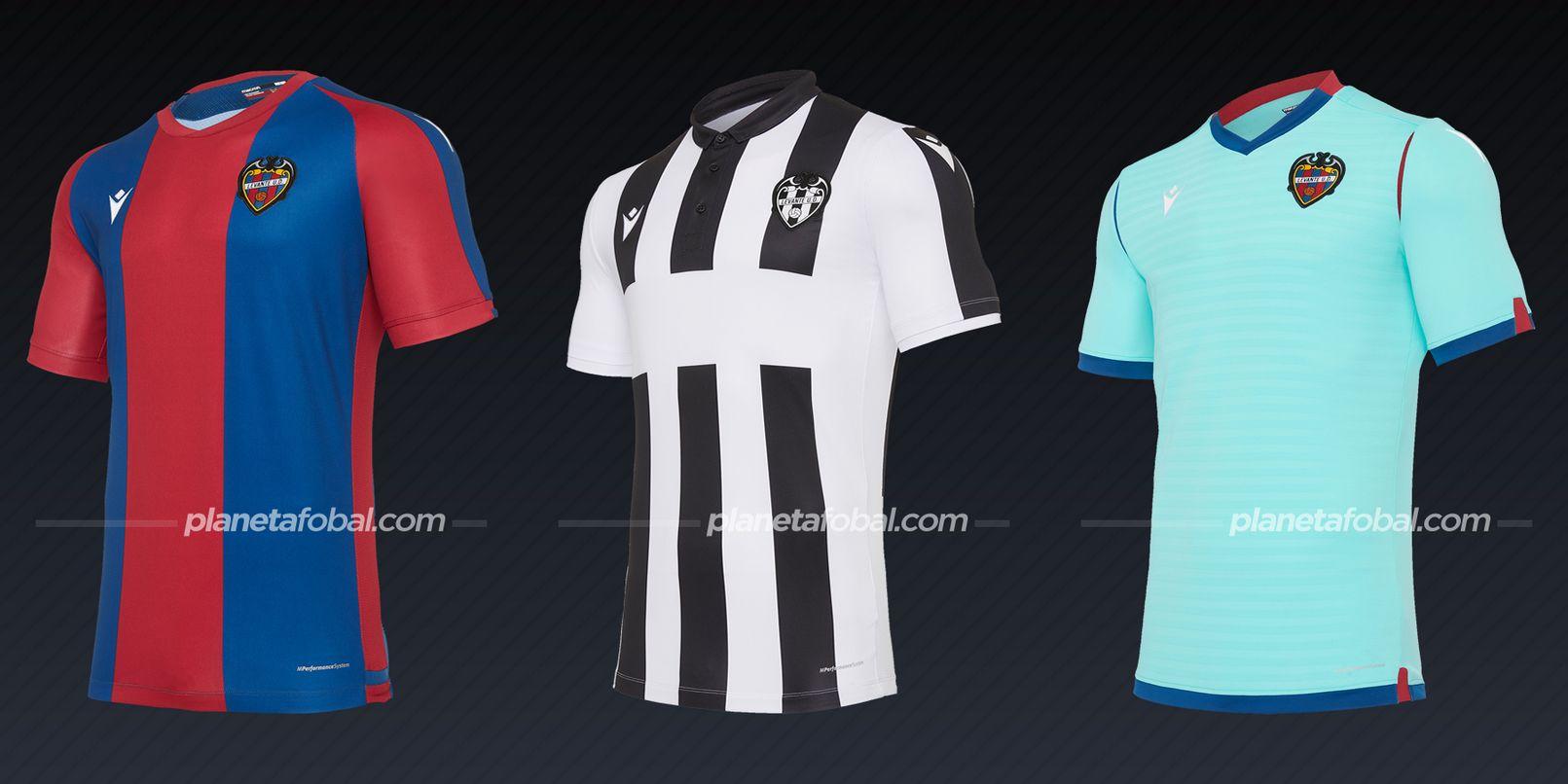 Levante (Macron) | Camisetas de la Liga española 2020/2021