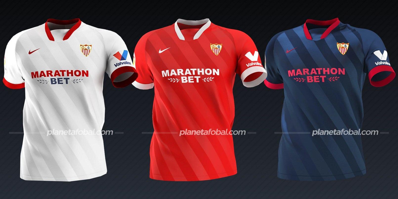 Sevilla (Nike) | Camisetas de la Liga española 2020/2021