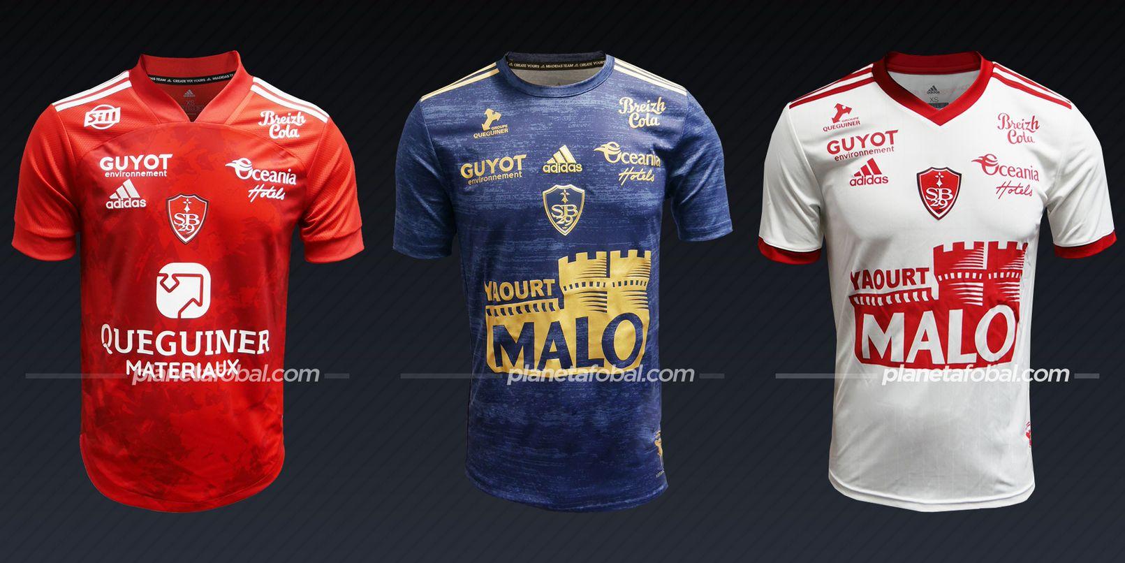 Stade Brestois 29 | Camisetas de la Ligue 1 2020/2021