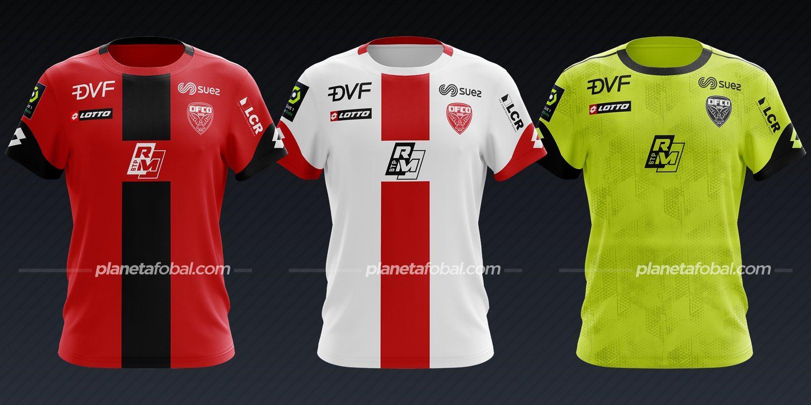 Dijon FCO (Lotto) | Camisetas de la Ligue 1 2020/2021