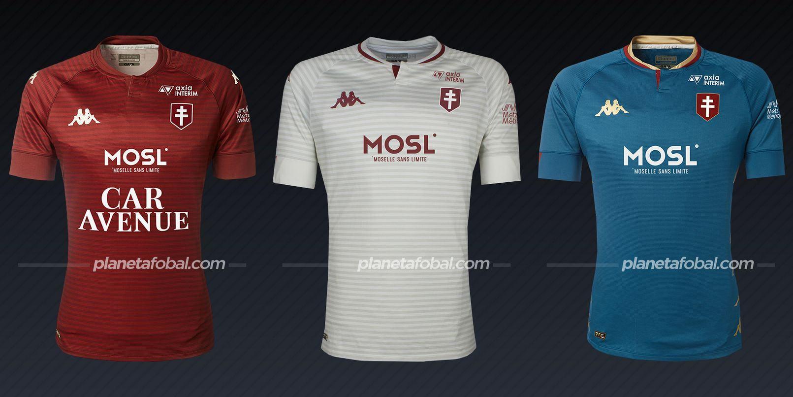 FC Metz (Kappa) | Camisetas de la Ligue 1 2020/2021
