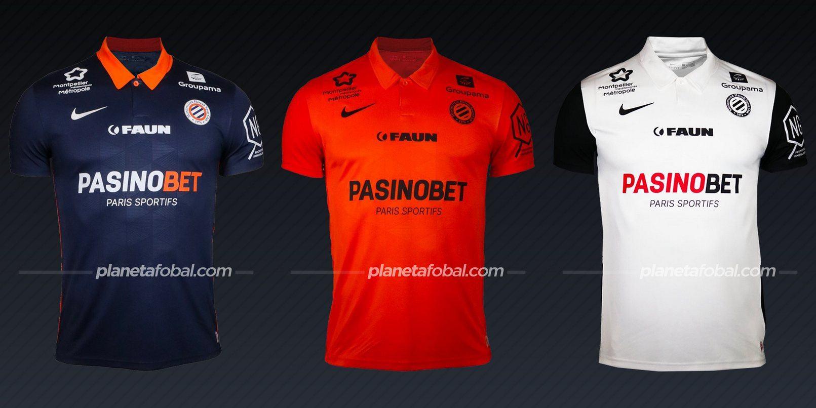 Montpellier (Nike) | Camisetas de la Ligue 1 2020/2021
