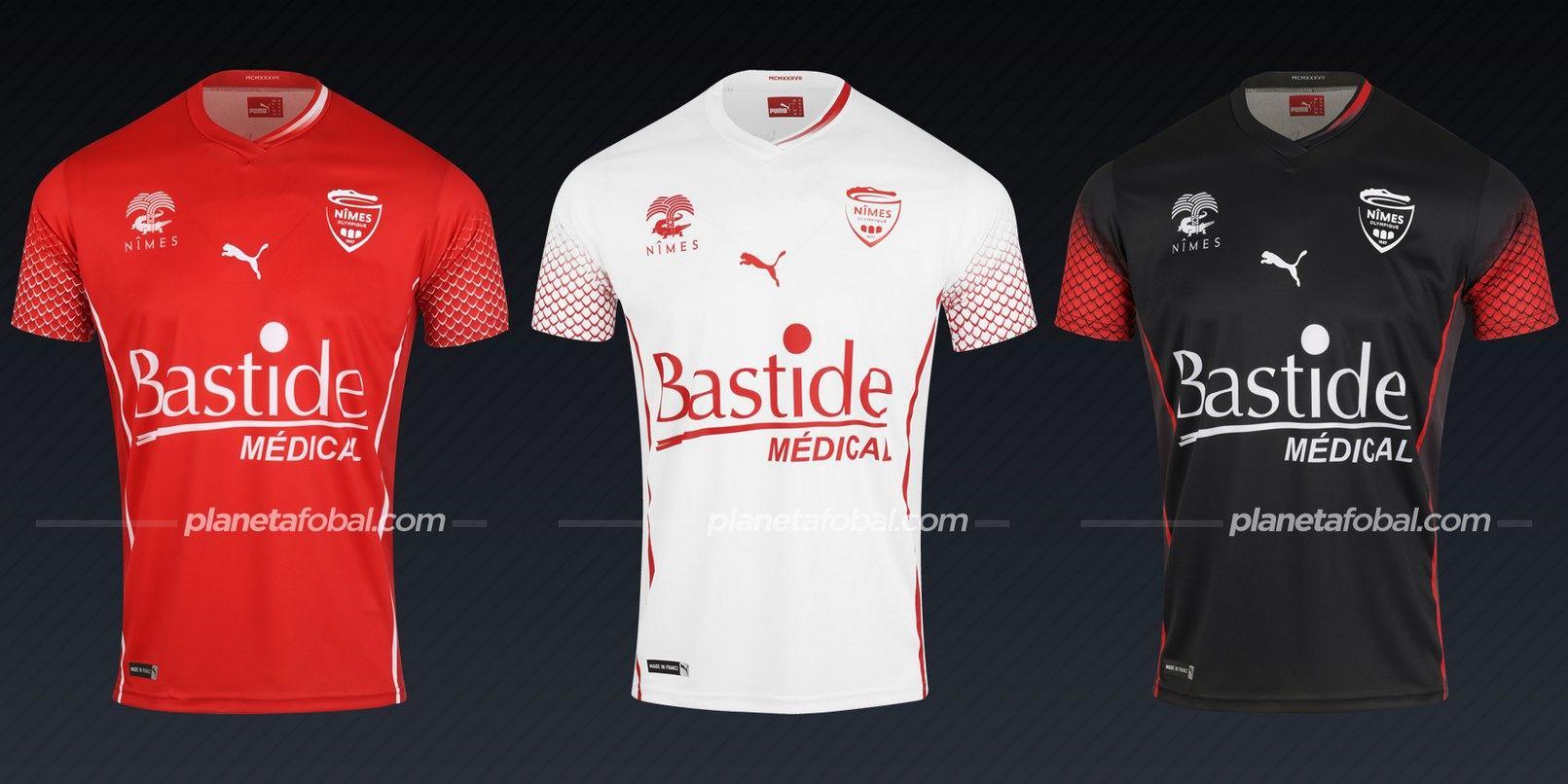 Nîmes Olympique (PUMA) | Camisetas de la Ligue 1 2020/2021