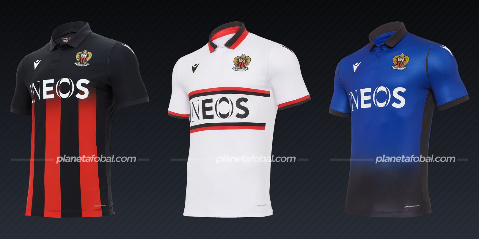 OGC Nice (Macron) | Camisetas de la Ligue 1 2020/2021