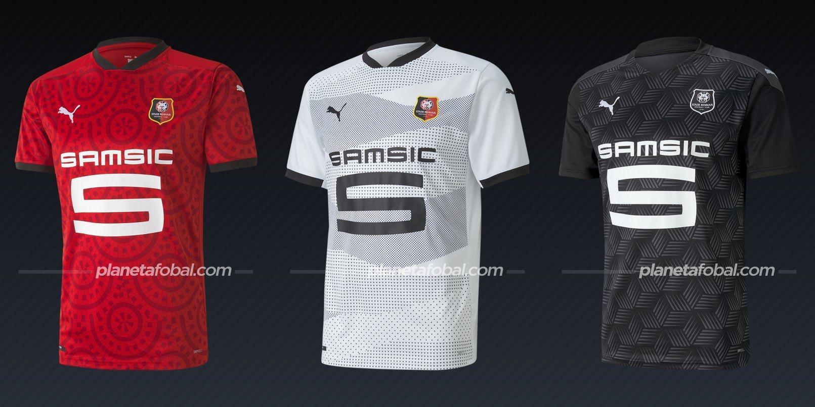 Stade Rennais (PUMA) | Camisetas de la Ligue 1 2020/2021