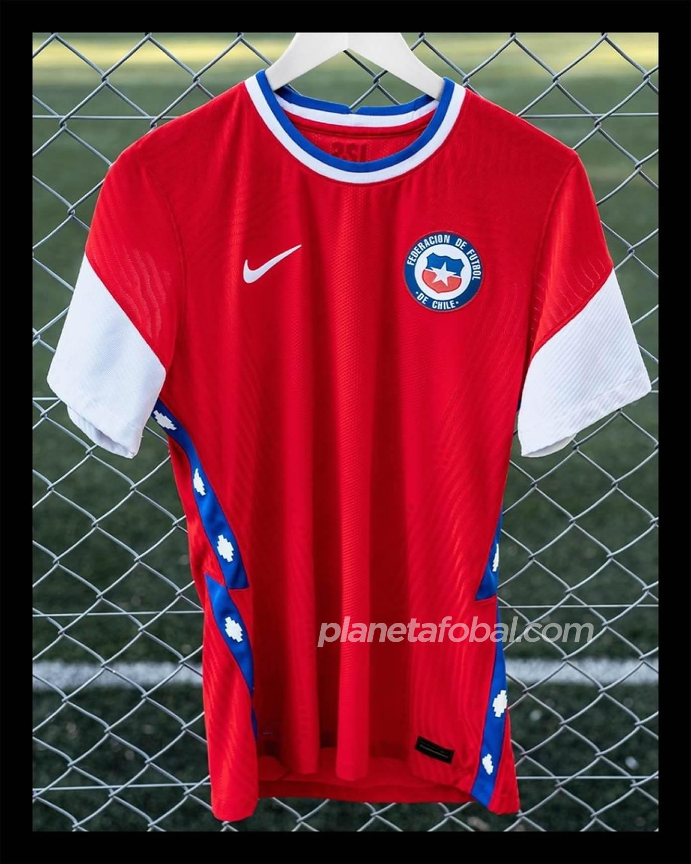 Camisetas Nike de Chile 2020/2021 | Imagen Twitter Oficial