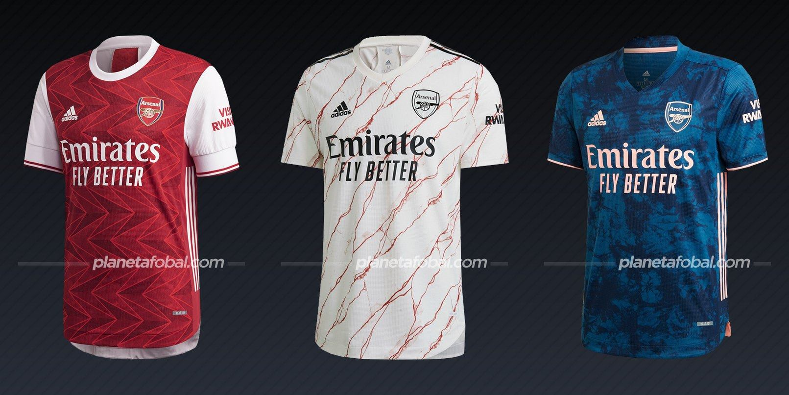 Arsenal (adidas) | Camisetas de la Premier League 2020/2021