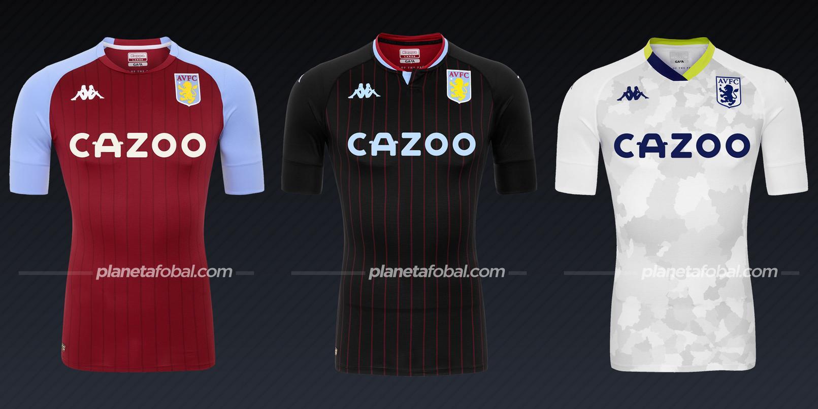 Aston Villa (Kappa) | Camisetas de la Premier League 2020/2021