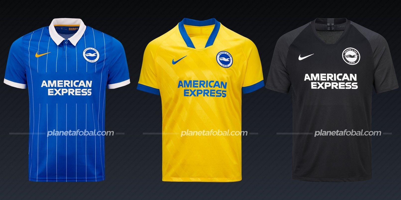 Brighton & Hove Albion (Nike) | Camisetas de la Premier League 2020/2021