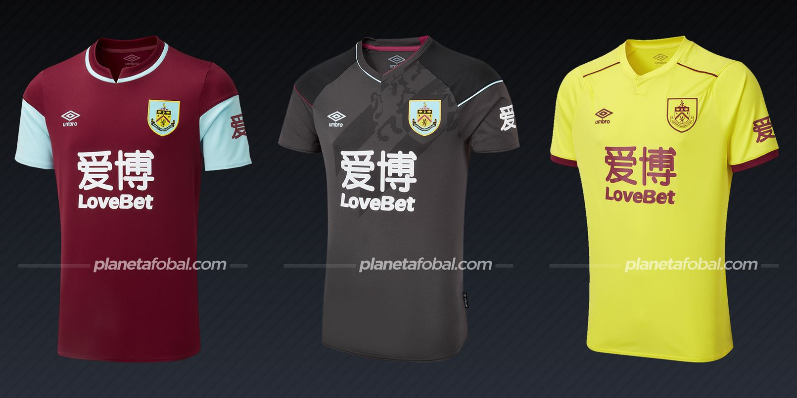 Burnley (Umbro) | Camisetas de la Premier League 2020/2021