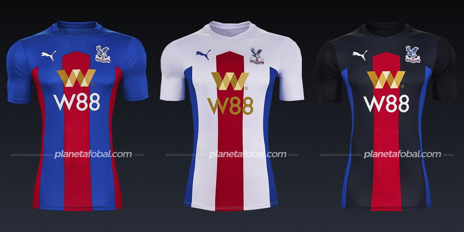 Crystal Palace (PUMA) | Camisetas de la Premier League 2020/2021