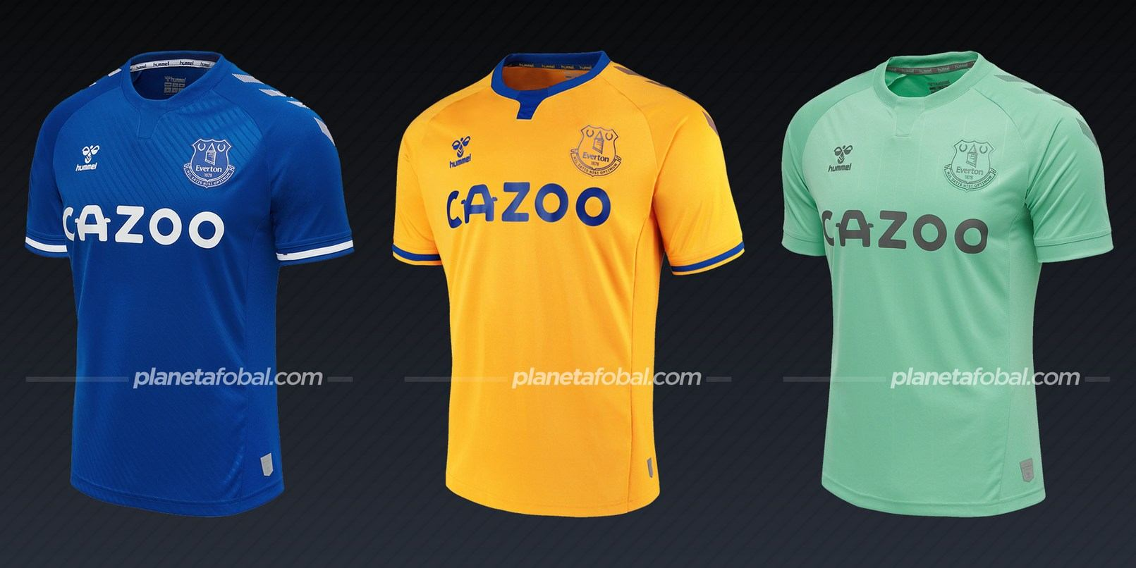 Everton (Hummel) | Camisetas de la Premier League 2020/2021
