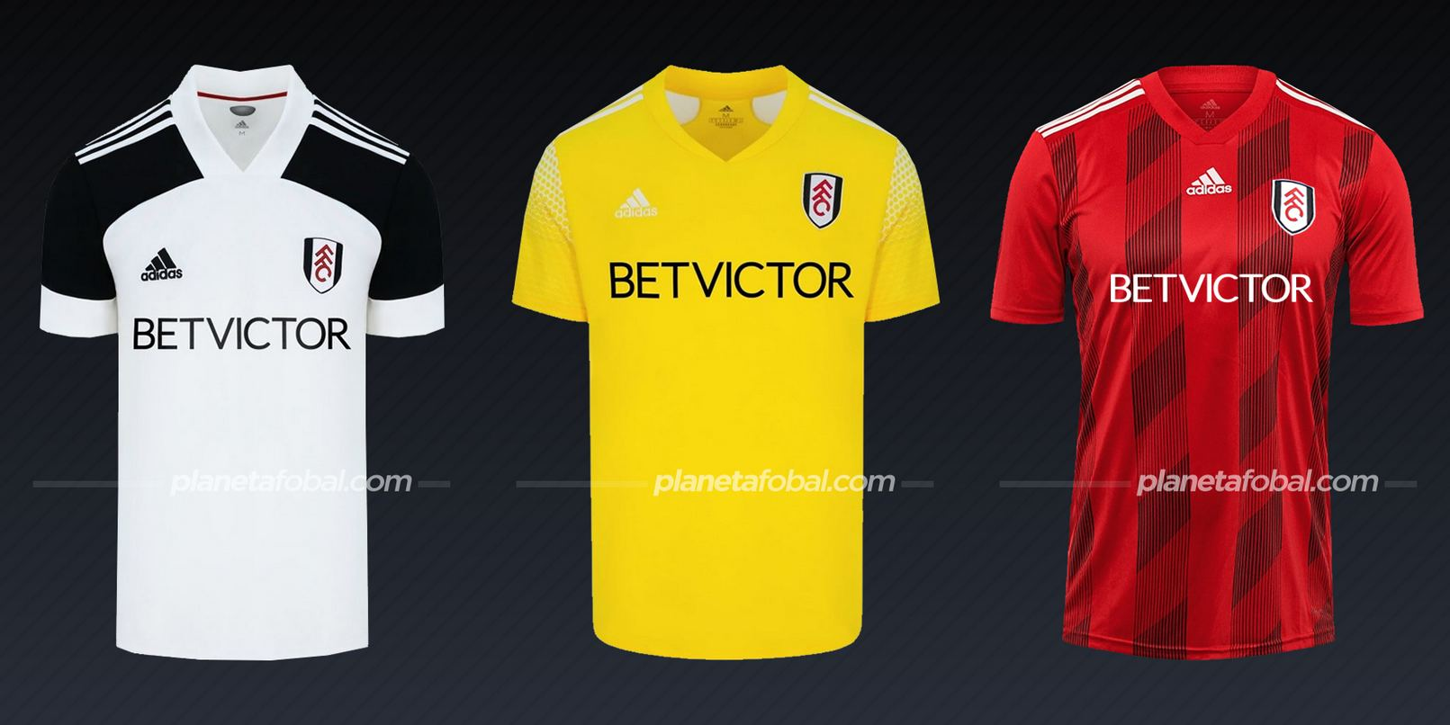 Fulham (adidas) | Camisetas de la Premier League 2020/2021