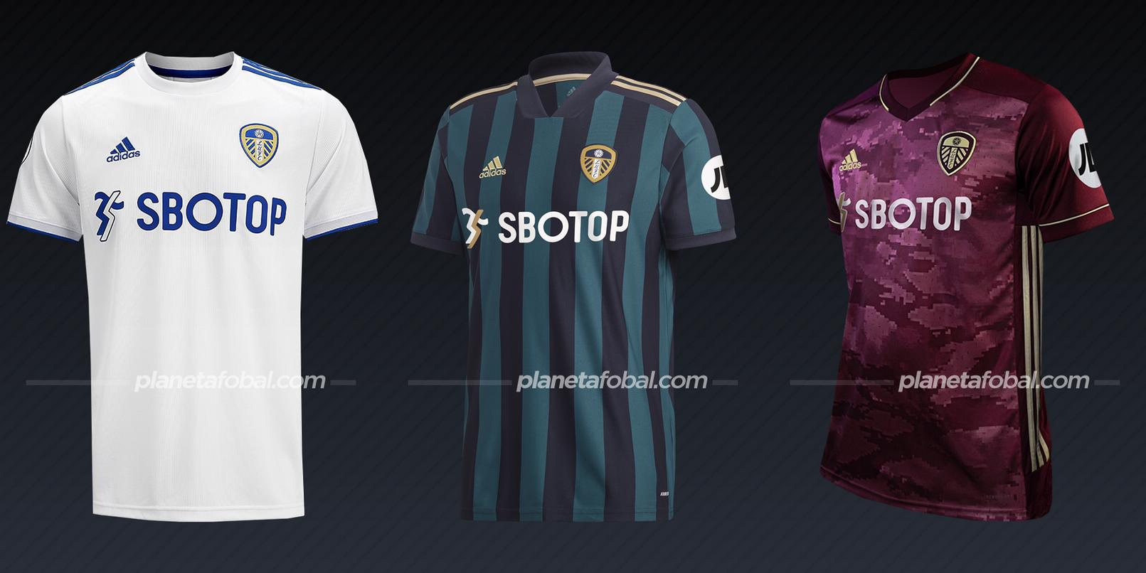 Leeds United (adidas) | Camisetas de la Premier League 2020/2021