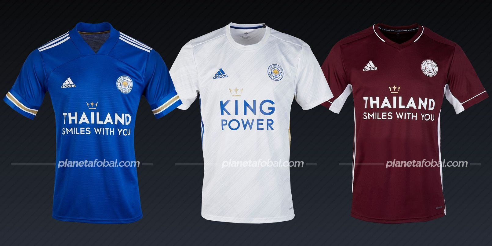 Leicester City (adidas) | Camisetas de la Premier League 2020/2021