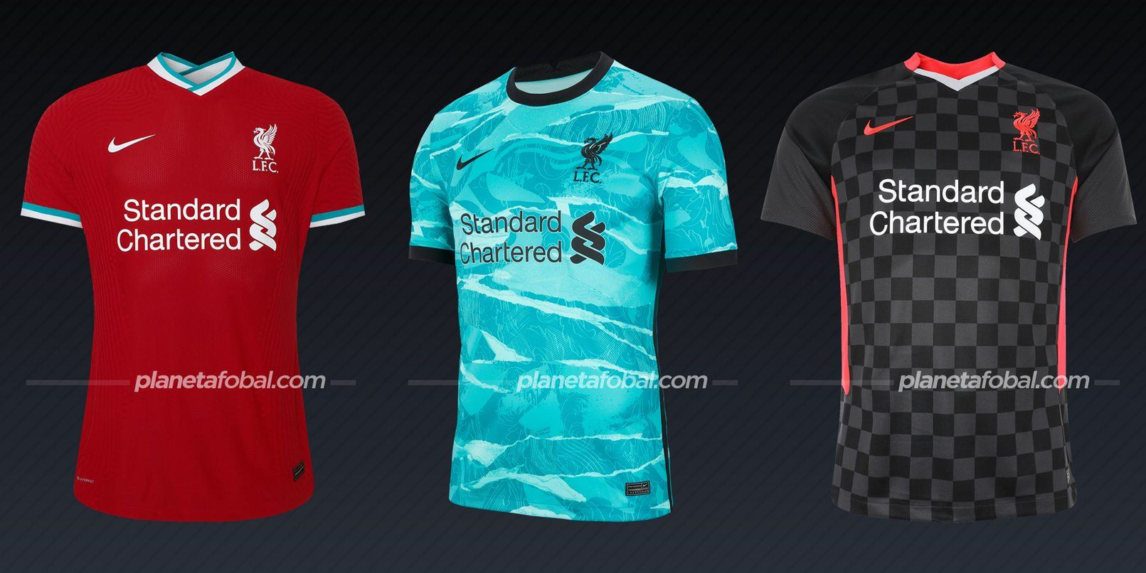 Liverpool (Nike) | Camisetas de la Premier League 2020/2021