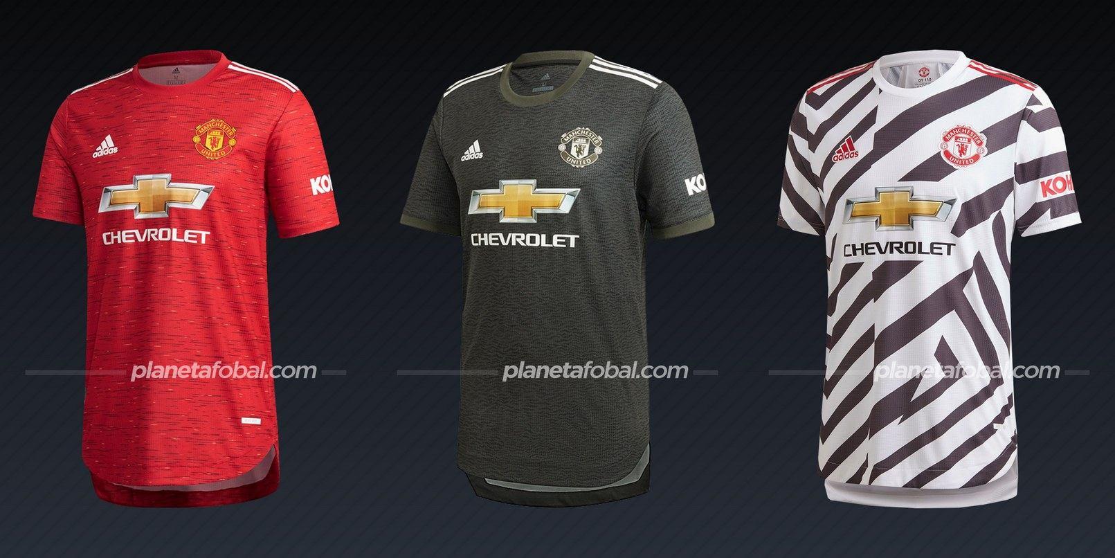 Manchester United (adidas) | Camisetas de la Premier League 2020/2021