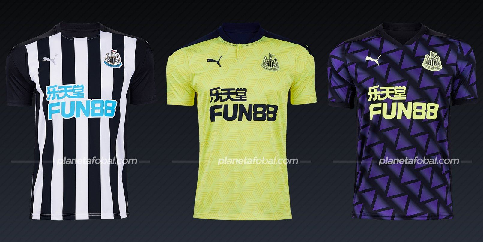 Newcastle (PUMA) | Camisetas de la Premier League 2020/2021