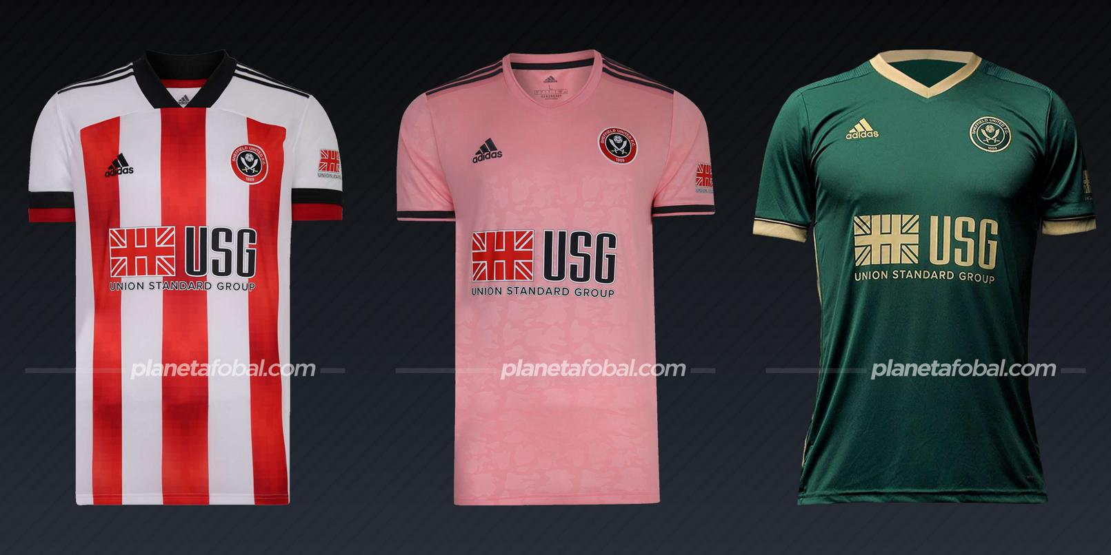 Sheffield United (adidas) | Camisetas de la Premier League 2020/2021