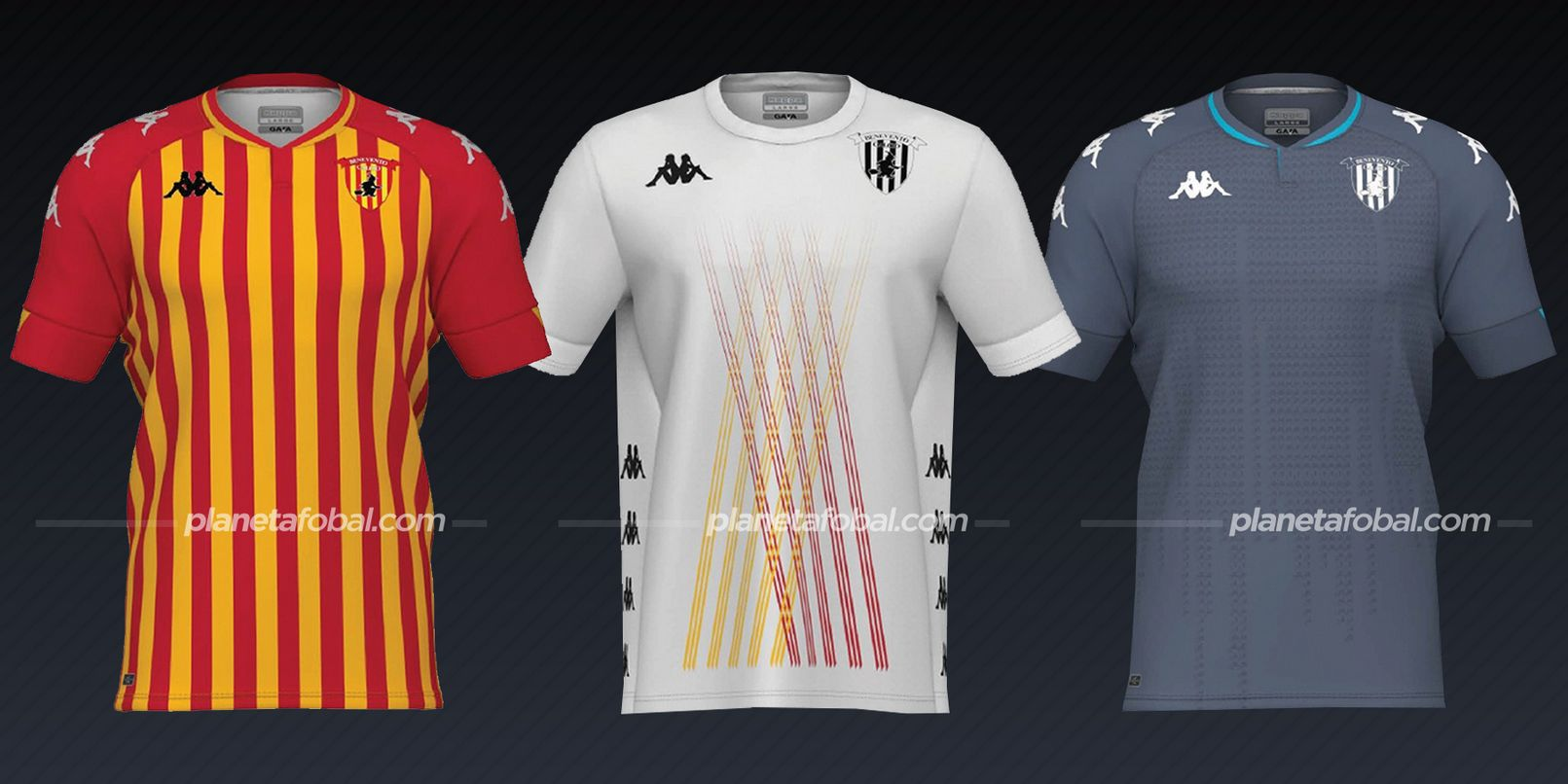 Benevento Calcio (Kappa) | Camisetas de la Serie A 2020/2021