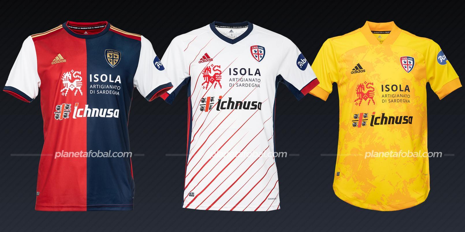 Cagliari (adidas) | Camisetas de la Serie A 2020/2021