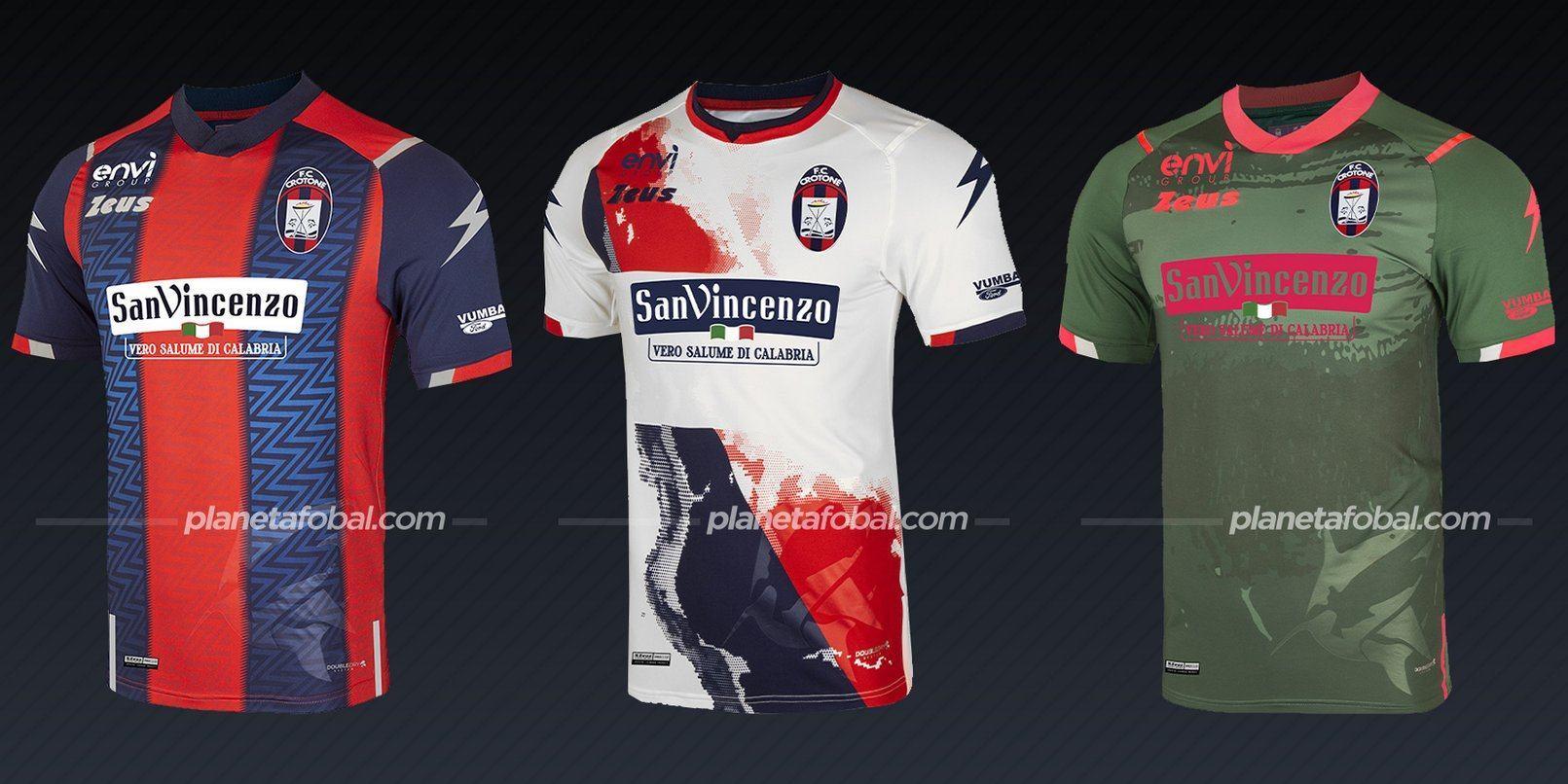 FC Crotone (Zeus) | Camisetas de la Serie A 2020/2021