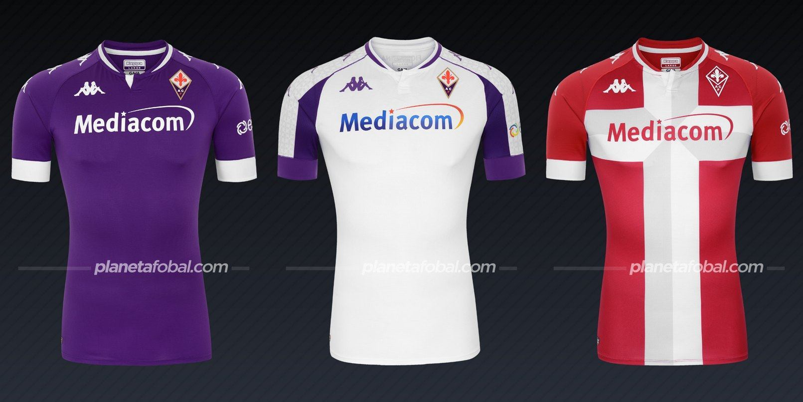 Fiorentina (Kappa) | Camisetas de la Serie A 2020/2021
