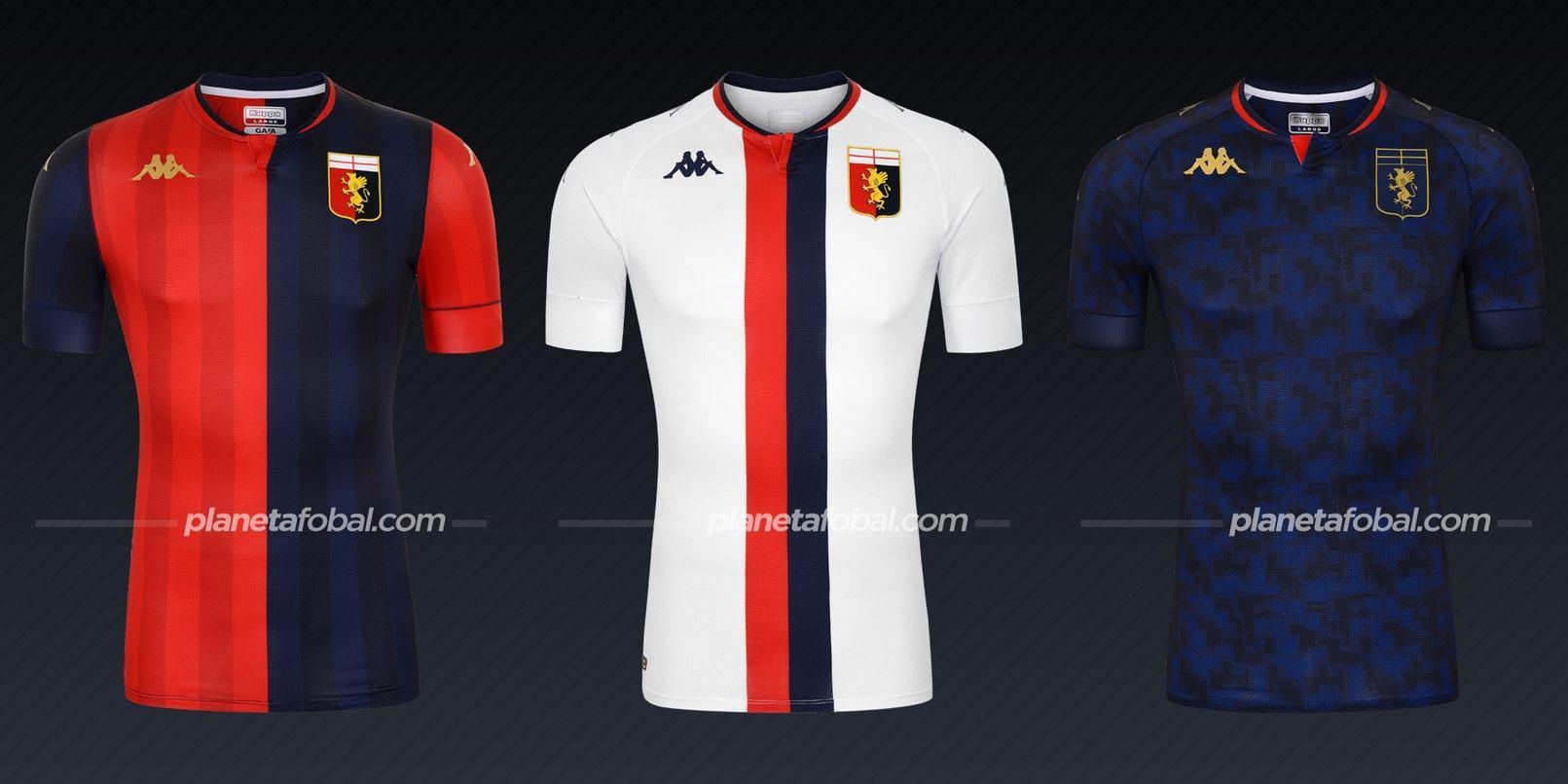 Genoa (Kappa) | Camisetas de la Serie A 2020/2021