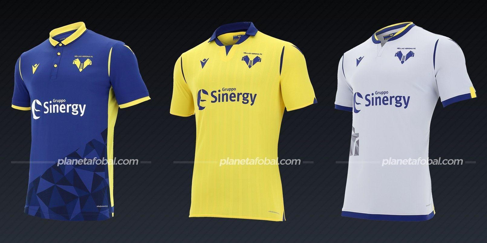 Hellas Verona (Macron) | Camisetas de la Serie A 2020/2021