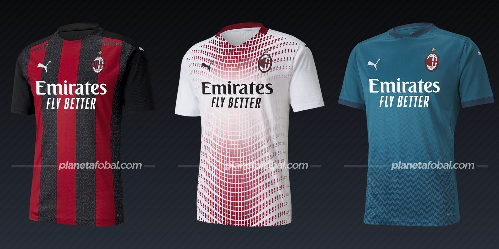 AC Milan (PUMA) | Camisetas de la Serie A 2020/2021