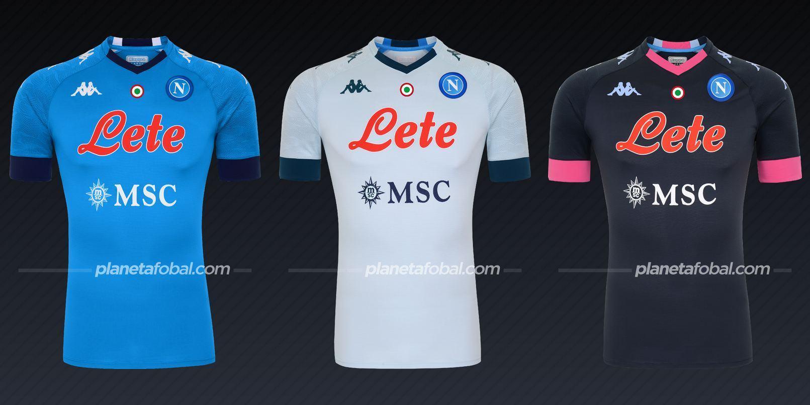 Napoli (Kappa) | Camisetas de la Serie A 2020/2021