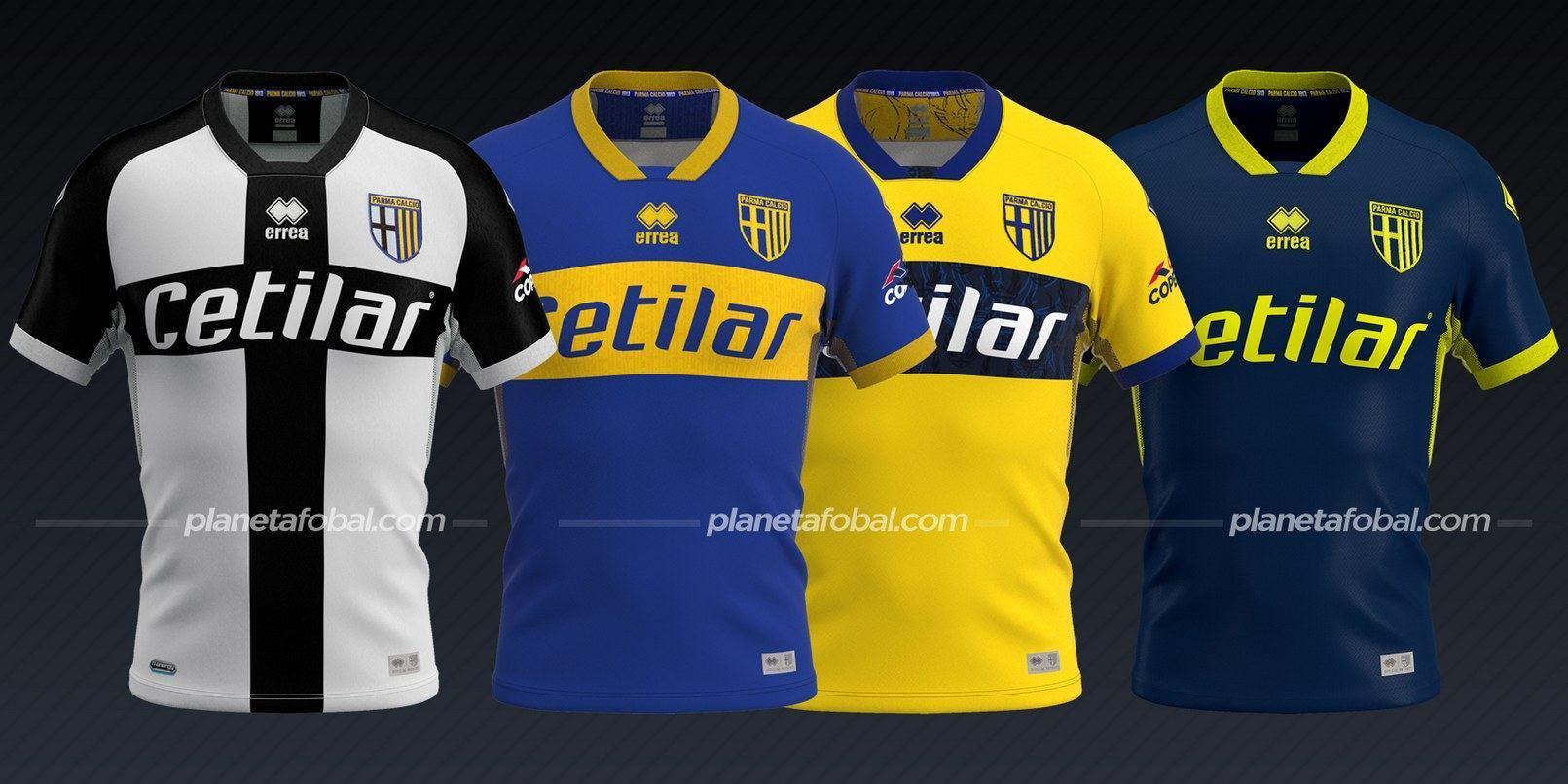 Parma Calcio (Erreà) | Camisetas de la Serie A 2020/2021