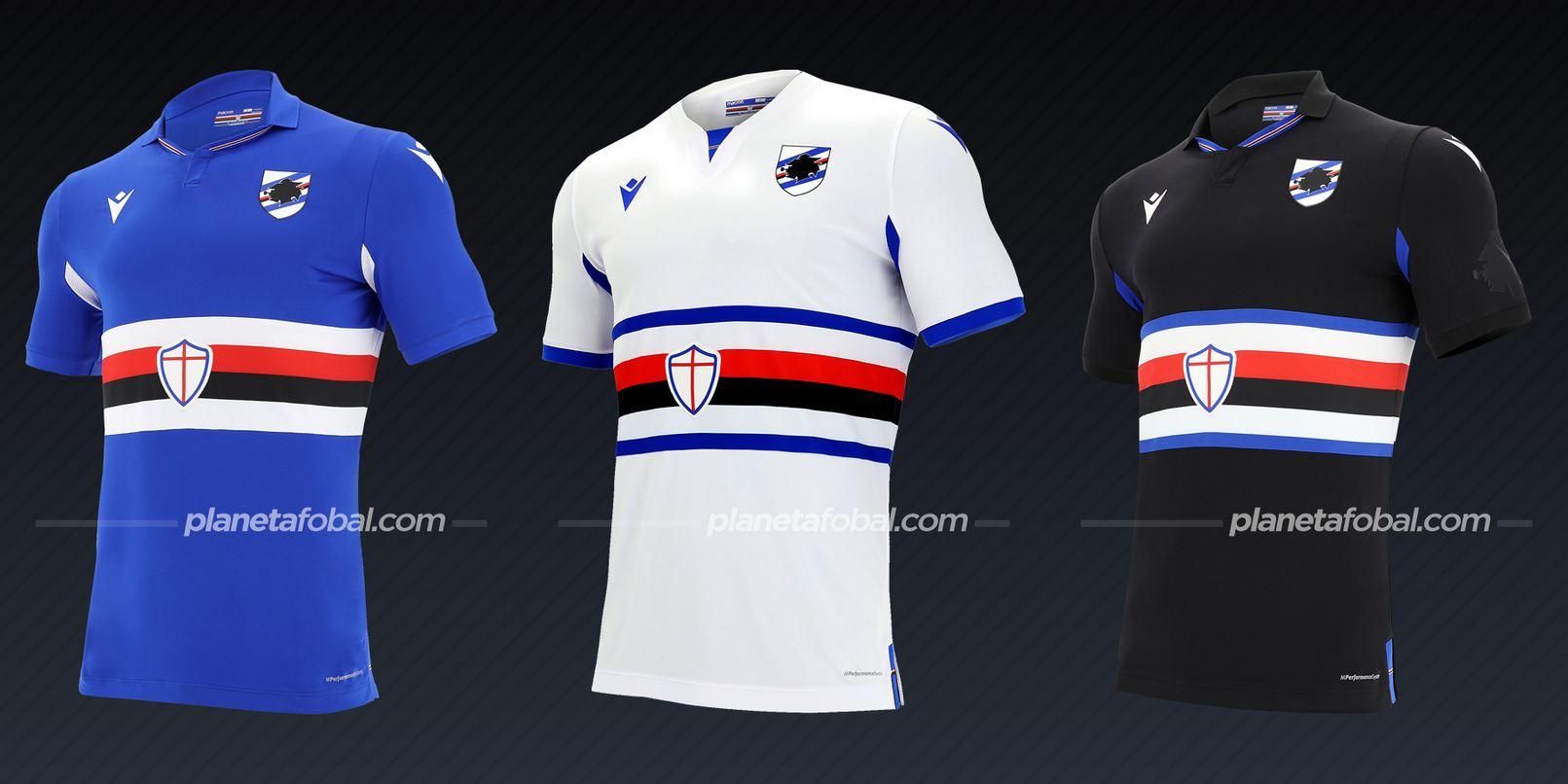 Sampdoria (Macron) | Camisetas de la Serie A 2020/2021