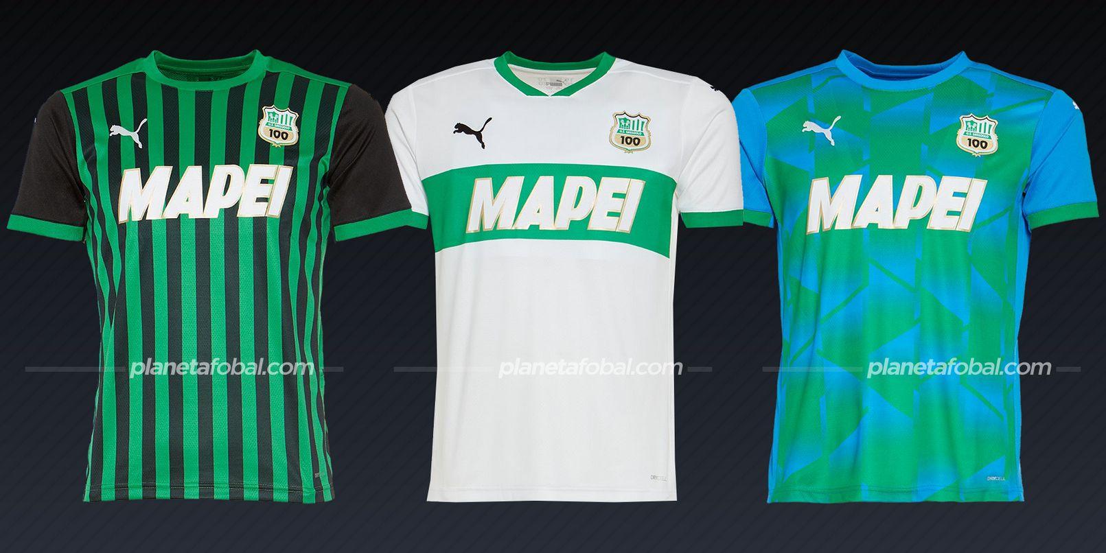 Sassuolo (PUMA) | Camisetas de la Serie A 2020/2021