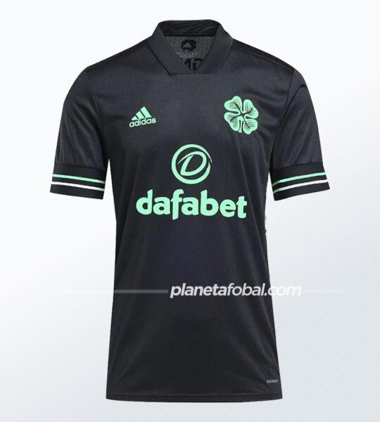 Tercera camiseta adidas del Celtic FC 2020/21 | Imagen Web Oficial