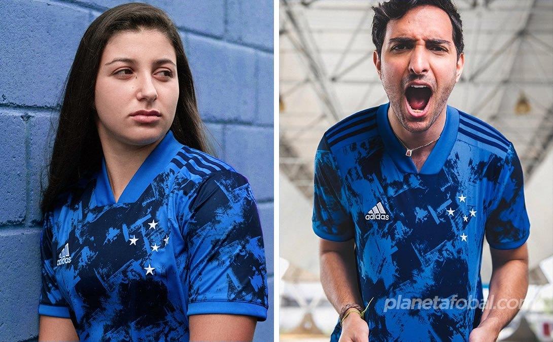Tercera camiseta adidas del Cruzeiro 2020/21 | Imagen Twitter oficial