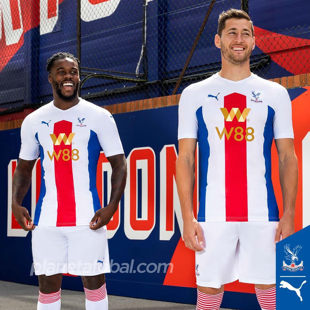 Camisetas Puma del Crystal Palace 2020/21   Imagen Web Oficial