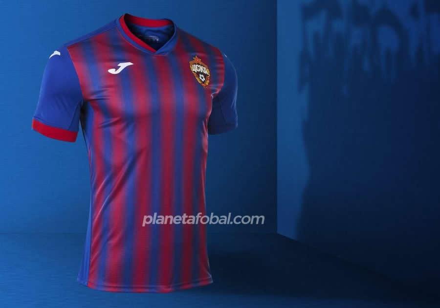 Camisetas Umbro del CSKA Moscú 2020/21 | Imagen Web Oficial