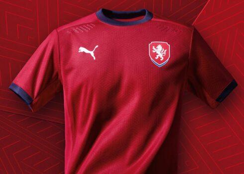 Camiseta titular de la República Checa 2020/2021 | Imagen PUMA