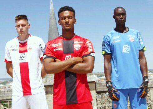 Camisetas Lotto del Dijon FCO 2020/21   Imagen Web Oficial
