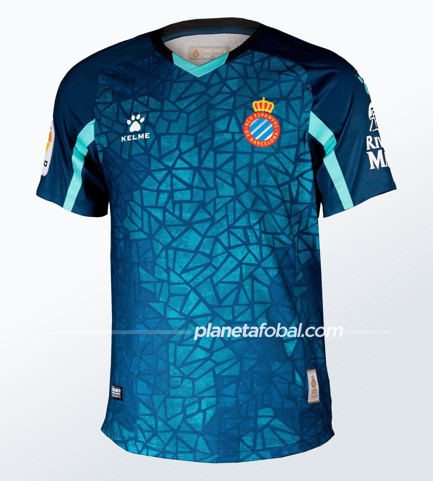 Camisetas Kelme del RCD Espanyol 2020/21 | Imagen Web Oficial