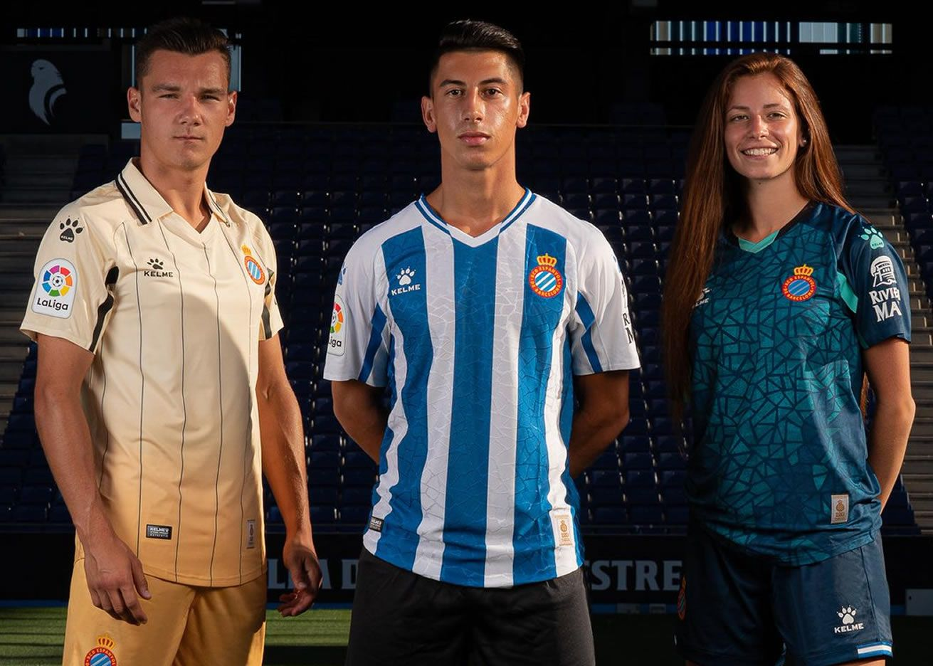 Equipaciones Kelme del RCD Espanyol 2020/21 | Imagen Web Oficial