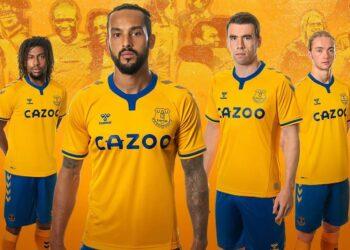 Camiseta suplente Hummel del Everton 2020/21 | Imagen Web Oficial