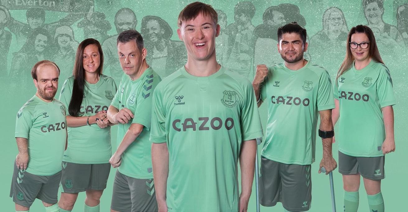 Tercera camiseta Hummel del Everton 2020/21 | Imagen Web Oficial