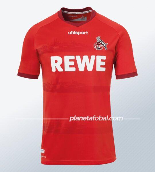 Camiseta suplente uhlsport del FC Köln 2020/21   Imagen Web Oficial