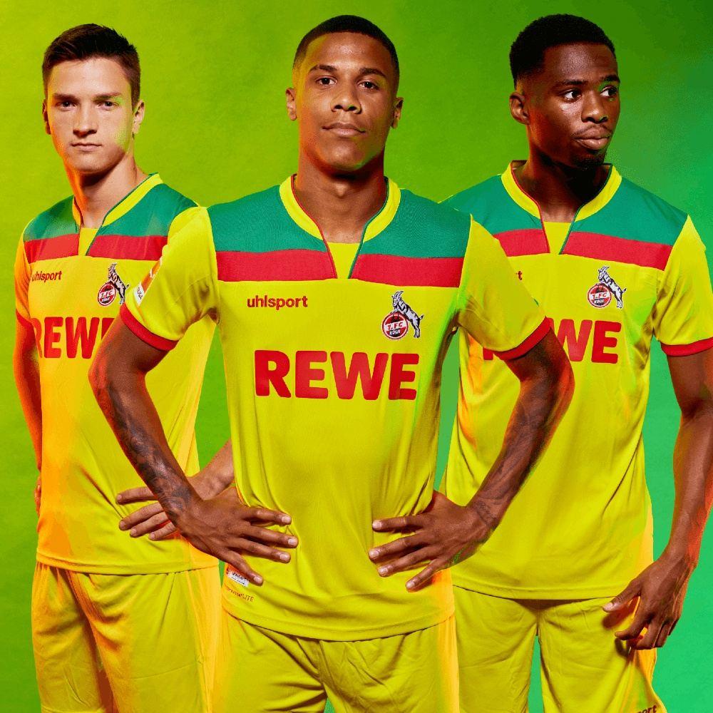 Camisetas alternativas uhlsport del FC Köln 2020/21   Imagen Web Oficial
